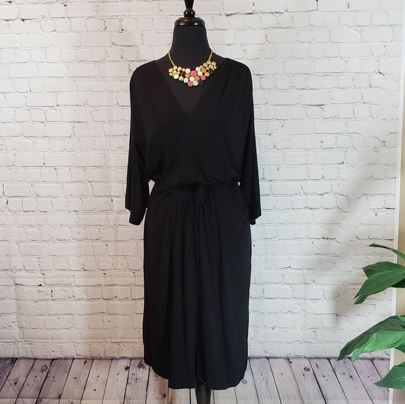 e516b1389c738 NWT Lane Bryant Black Dress Sz 18 20